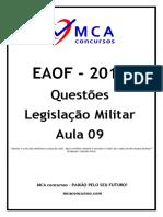 Questões-Legislaçao-Militar-Aula-09