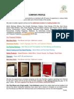 Company Profile 01.12.19