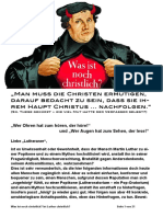 Luther vs Christus Thesenpapier