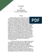 In Sachen Der Psychophysik-Deutsch-gustav Theodor Fechner