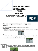 INSTRUMENT LABORATORIUM OPTIK SURFACING