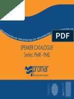 Catalogo Speaker PMR-PMS