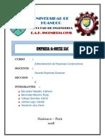 administración de empresas contracturas
