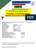 TES A.  Perforacion III