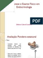 Anamnese e Exame Fisico em Endocrinologia