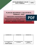 001 PLAN DE SEGURIDAD Y SALUD EN EL TRABAJO S.V