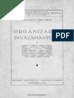 Antonescu, G.G., Gabrea, Iosif. I., Organizarea învățământului în România ...