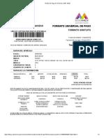 Recibo de Pago de Tenencia- DGR, GEM