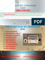 Off Page SEO Activities | Off Page SEO Techniques 2020 | DMIR
