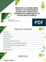 SUSTENTACION TESIS DE GRADO SISMICIDAD ASOCIADA A YACIMIENTOS NO CONVENCIONALES