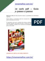 Dieta Low Carb PDF