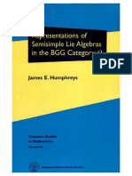 (Graduate Studies in Mathematics) Humphreys J.E. - Representations of Semisimple Lie Algebras in the BGG Category O-AMS (2008).pdf