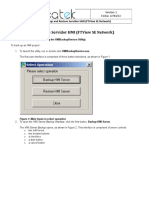 Backup and Restore Servidor HMI (FTView SE Network)