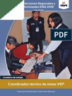 Cuaderno del CTM VEP