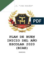 PLAN BIAE 2020