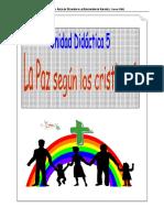 Tema 5 La Paz Según Los Cristianos