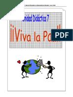 Tema  7 ¡Viva la Paz!