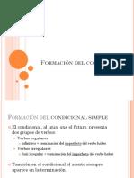 Formacion y usos del condicional