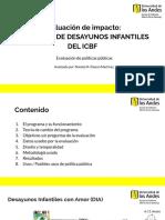 Evaluación PP ICBF