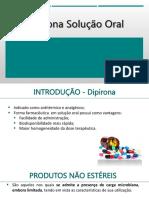 DIPIRONA solução oral