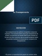 La Transparencia