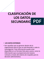 2 CLASIFICACION DE DATOS SECUNDARIOS EX