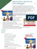 «Aprendo a ser testigo del Señor»- Itinerario de vida cristiana hacia la Confirmación