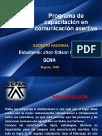 Evidencia_6 PROGRAMA DE CAPACITACIÓN EN COMUNICACIÓN ASERTIVA