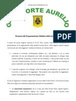 Proposta Didattica Scuola Calcio  Forte Aurelio 2010-2011
