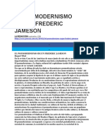 EL POSMODERNISMO SEGUN FREDERIC JAMESON