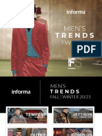 INFORMA X FASHION SNOOPS MEN'S TREND REPORT FW 20-21