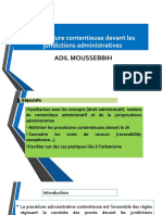 procedure contentieuse