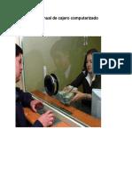 Manual de Cajero Bancario