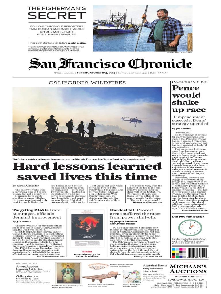 cute cheap san francisco best shoes San Francisco Chronicle, November 3, 2019 | Nature