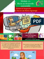 Cómo Hacer Un Buen Reportaje/Módulo 15