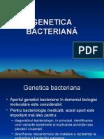 4. GENETICA BACTERIANA