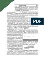 Reglamento del D L N° 1089 FORPRAF