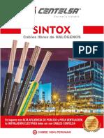 CENTELSA BROCHURE SINTOX (libres de halógenos)