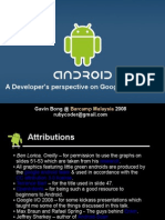 Google Android - A developer's perspective