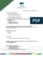 Examen - de personal de Control de Calidad DIAVAZ
