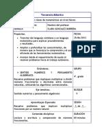 Secuencia didáctica. CLARA GONZALEZ BARRERA