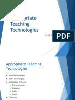 Module 8 - Appropriate Teaching Technologies.pptx