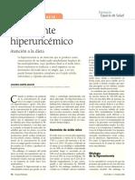 El paciente hiperuricémico_Atención a la dieta_gota
