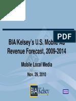 BIAKelsey MobileForecast 2009-14 EXCERPT
