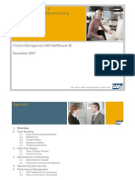 SAP BI Data Warehousing