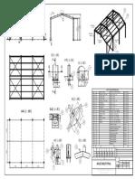 Plano de Montaje Nave Industrial