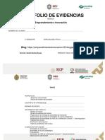 1 Nuevo  Portafolio de Evidencias Emprendimiento NMA 2019