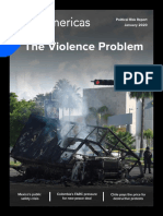 [Extract] BNamericas - Political Risk Report - The Violence Problem