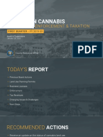 Santa Barbara County Update on Cannabis Compliance, Enforcement & Taxation