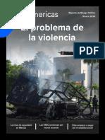 [Extracto] BNamericas - Reporte de Riesgo Político - El Problema de la Violencia